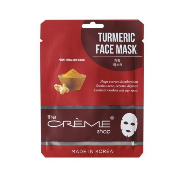 The Creme Shop Turmeric Face Mask Mask Sheet