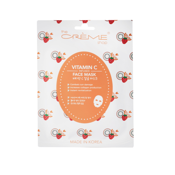 The Creme Shop Vitamin C Infused Face Mask Mask Sheet