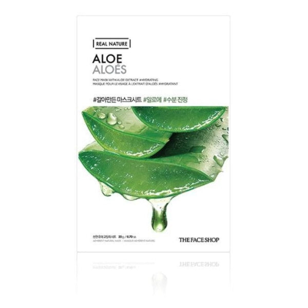 The Face Shop Aloe Real Nature Mask Mask Sheet