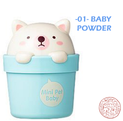 The Face Shop - Lovely Me:ex Mini Pet Perfume Hand Cream #1 Baby Powder Hand Cream