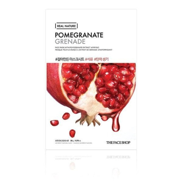 The Face Shop Pomegranate Real Nature Mask Mask Sheet