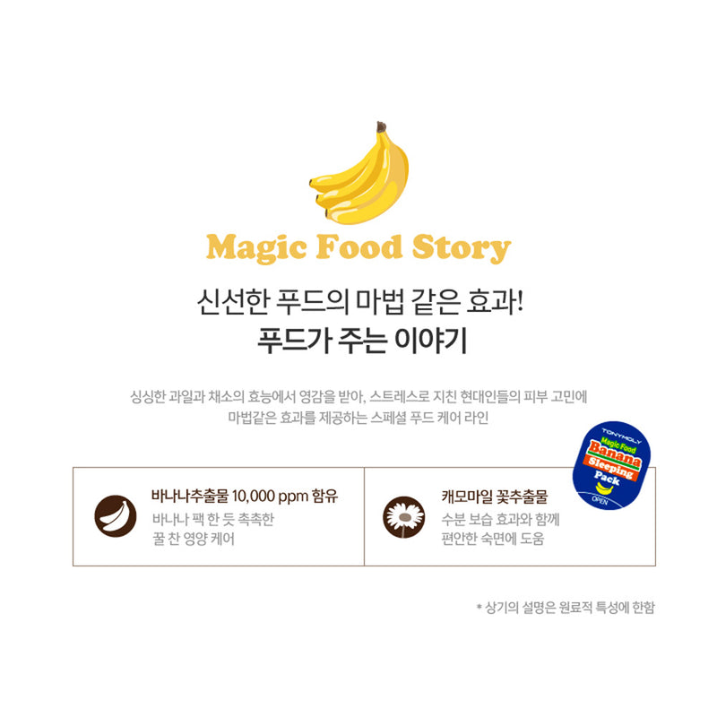 TONYMOLY Banana Sleeping Mask