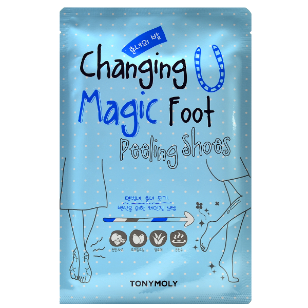 Tonymoly Changing U Magic Foot Peeling Shoes Mask Sheet