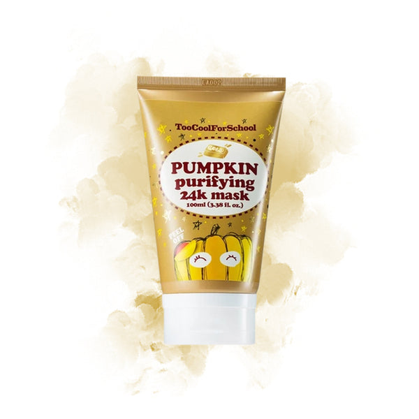 Too Cool For School Pumpkin Purifying Peel-Off 24K Mask