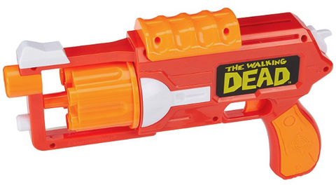 nerf walking dead carls revolver