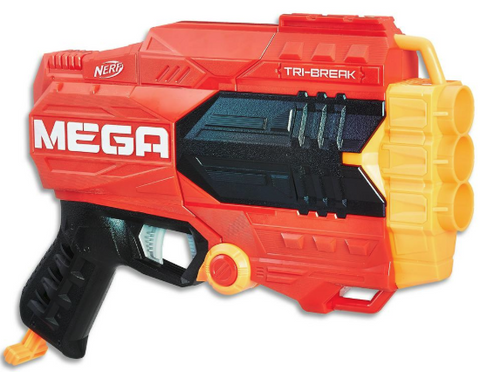 nerf n-strike elite mega tri-break