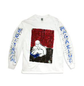 Hand Painted Bichon Longsleeve