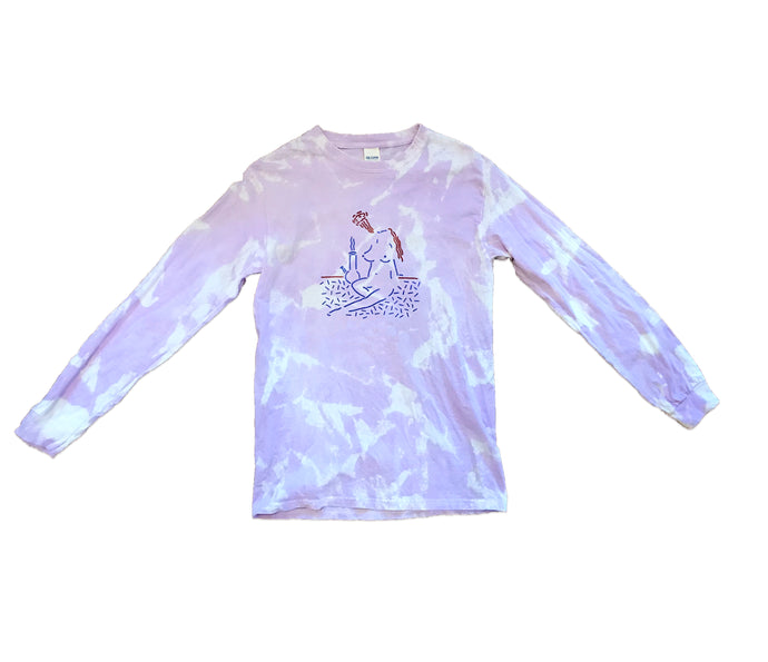 Custom Tye Dyed Clay Hickson Longsleeve