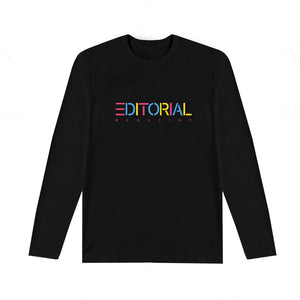 Black Rainbow Editorial Longsleeve