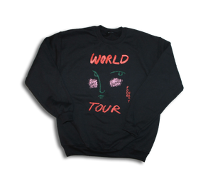 Poor Gray World Black Sweatshirt