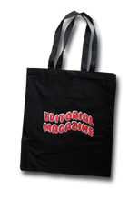Black & Red Bubble Tote