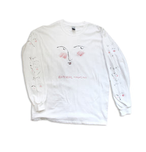 Hand Painted Face Longsleeve 1