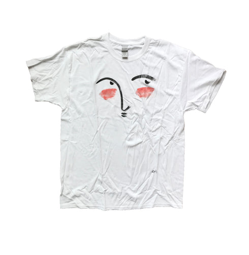 Hand Painted Face Tee