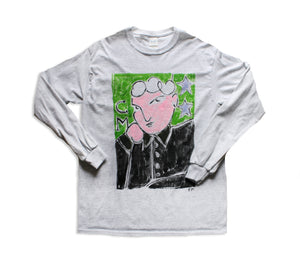 Hand Painted Face Longsleeve