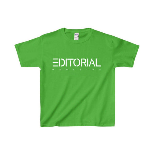 Green Editorial Baby Tee