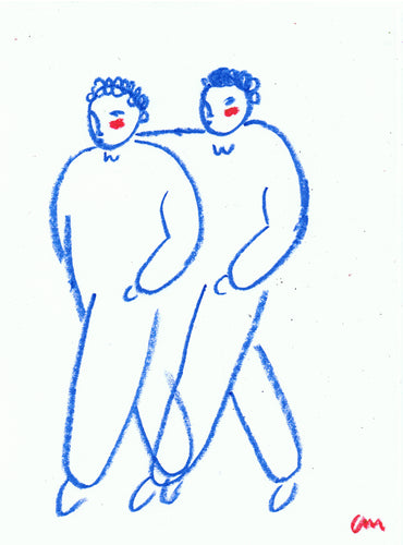 Charity Auction Original Strollers Drawing