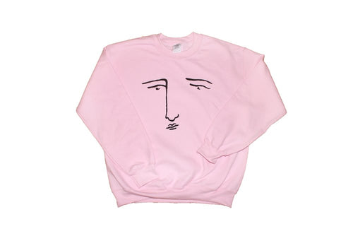 Pink Poor Gray Sweatshirt