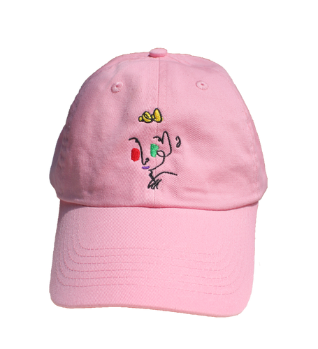 Pink Poor Gray Hat