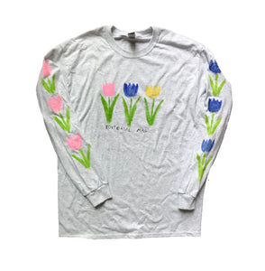 Hand Painted Tulips Longsleeve