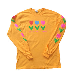 Tulips Longsleeve Yellow