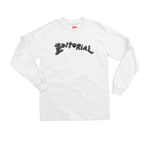 Editorial Sludge Longsleeve White
