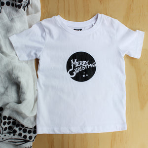"Boy's ""Merry Christmas"" Tee - Size 2"