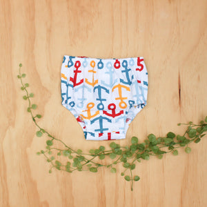 Anchors Nappy Cover - Size 00-0