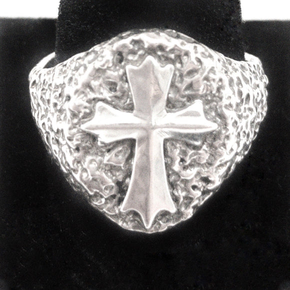 Fleurie Cross Ring (Large)
