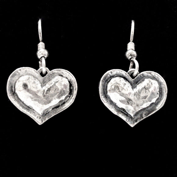 French Heart Earrings