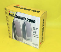 Genuine Inland PRO Sound 2000 100W AMP Computer PC, Notebook, and MP3 Speakers