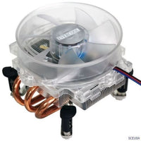 Overclock LED Fan for Intel Socket T 805 LGA 775 Quad Core 2 Duo Pentium 4 CPU