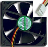 "NEW UL/TUV Long Cable Computer Case Fan with 3 Pin Connector 3.5""x 3.5"" 90mm 12V"