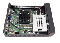 NEW Fanless Mini-ITX Barebone PC Intel 2GHz Quad-CORE,8GB DDR3 VGA/HDMI,HD Audio