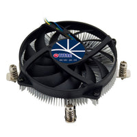 NEW Low-Profile Intel LGA 1150/1151/1155/1156 95mm Aluminum CPU Cooling Fan 1U