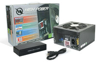 HIGH POWER® HPC-560-A12S Plus Series 560W ATX PSU with Built-in LED Wattage Meter Power Supply