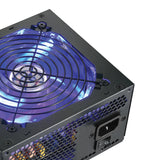 NEW SHARK TECHNOLOGY® 600W LED Gaming 2x PCIe PC ATX 12V Power Supply