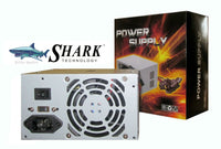 SHARK TECHNOLOGY® Model: ATX-500 500W PS3/ATX 12V Intel P3/P4 PC Power Supply