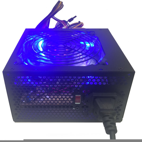 SHARK TECHNOLOGY® ATX-750-LED 750W Quiet 120mm Fan Power Supply 24pin,8pin 12V, PCIe