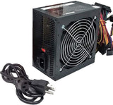 SHARK TECHNOLOGY® 750W Black Gaming PC 120mm Fan ATX Power Supply 4x SATA, PCIE Graphic