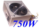 SHARK TECHNOLOGY® ATX-750N ATX/EPS 12V 750W PCI-e Silent 120mm Fan 3pin RPM Power Supply