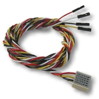 IR data cable, Individually-pinned, 43-inch long -- Connects from Infrared Drive's PCB to motherboard's IR port header