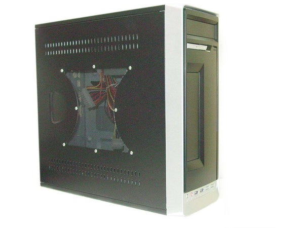 NEW Black Slim Mini-ITX Tower Micro ATX Desktop PC Case, Gaming Computer Chassis