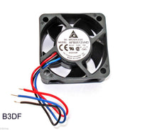 Delta AFB0512VHD 7000 RPM 12v DC 50mm x 20mm 3-Wire PC/CPU/Server Cooling Fan