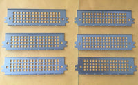"lot of 6: Genuine Enlight P/N:3229355 Server/PC 5.25"" Drive Bay EMI Shield Plate"