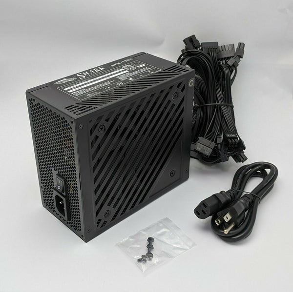 *New* SHARK 750W Dual PCIE 80plus Power-Saver Quiet ATX/EPS 12V Gaming PC Supply