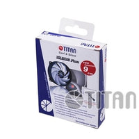 Titan 80mm PWM/4pin/3pin PC Case VGA Cooler Cooling Fan w/ Shock Absorption