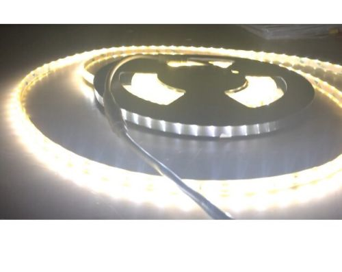NEW 5meter 12v Waterproof Soft White LED Flex Light Strips 18W Roll SMD3528 PCB