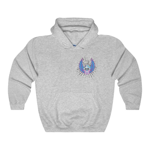 Angel Body Ghost Print - Unisex Hoodie