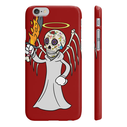 Angel of Justice Body Ghost Slim Phone Cases