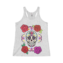 Rose Themed body Ghost Racerback Tank